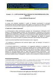 versione pdf - Osservatorio permanente sull'applicazione delle ...