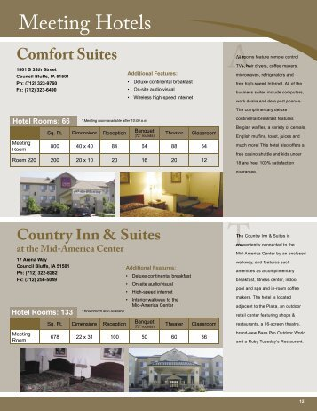Comfort Suites - Council Bluffs Area Chamber of Commerce
