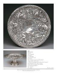 barroca, prata trabalhada, portuguesa, séc. XVII/XVIII, marca de ...