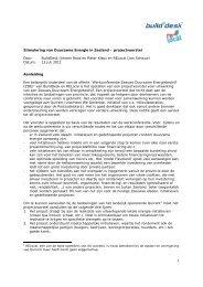 Stimulering van Duurzame Energie in Zeeland ... - Provincie Zeeland