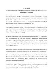 statement - Eastern Partnership Civil Society Forum