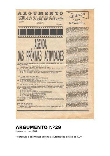 Argumento nº29 - Cine Clube de Viseu