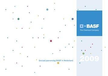 Sociaal jaarverslag BASF in Nederland