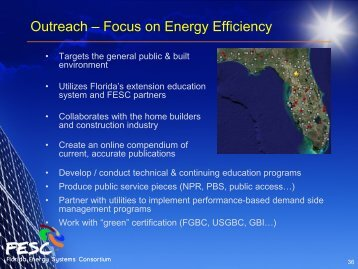 Part 4 - Florida Energy Systems Consortium
