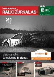 Ralio žurnalas - Lietuvos automobilių sporto federacija
