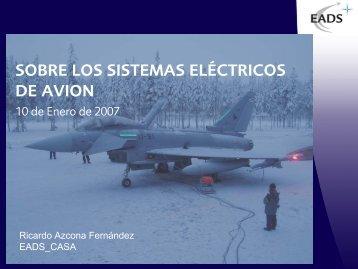 SOBRE LOS SISTEMAS ELÉCTRICOS DE AVION