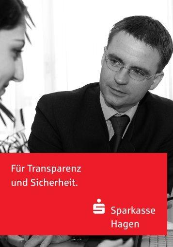 Erstinformation - Sparkasse Hagen