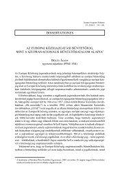 Az európai közigazgatási büntetőjog, mint a szupranacionális ... - IAS