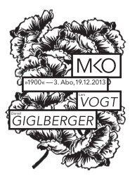 Abendprogramm zum Download - Münchener Kammerorchester