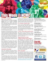 This Week@NCMC February 11, 2013 - North Central Missouri ...