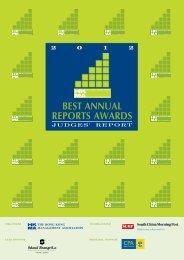2012 Judges Report - Hong Kong Management Association
