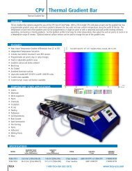 Gradient Plate - Thermoelectric Cooling America