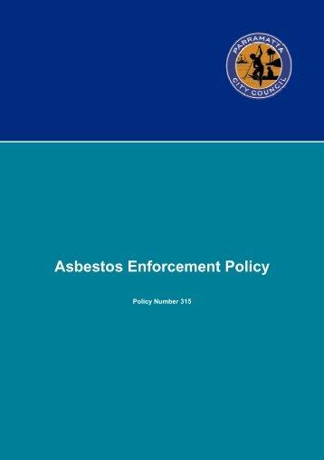 Asbestos Enforcement Policy - Parramatta City Council - NSW ...