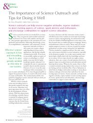 The Importance of Science Outreach and Tips for ... - Sigma Pi Sigma
