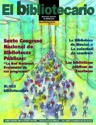 sep - Dirección General de Bibliotecas - Consejo Nacional para la ...