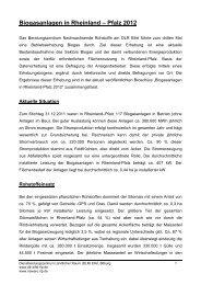 Biogasanlagen in Rheinland – Pfalz 2012 - DLR Eifel - in Rheinland ...