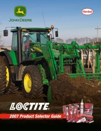 2007 Product Selector Guide - Loctite.ph