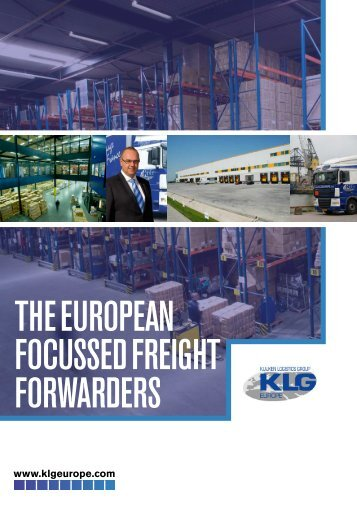 THE EUROPEAN FOCUSSED FREIGHT FORwARDERS - EVO