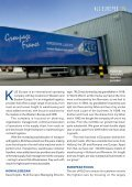 THE EUROPEAN FOCUSSED FREIGHT FORwARDERS - EVO - Page 3