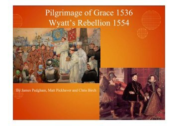 P & G Wyatts Rebellion
