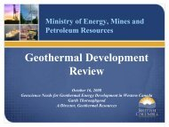 Geothermal Development Review