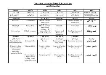 2007 -2006 ار ا م ا ا ر لو ة أ.د/أ أ ا ع ا ول ا ع ا ا ع ا ا ع ا ا ا ع ا ا ع ا دس