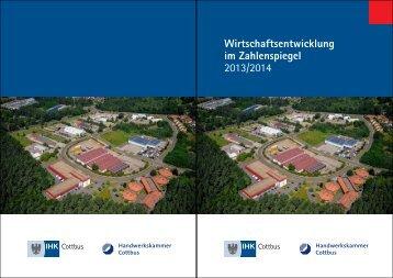 Wirtschaftsentwicklung im Zahlenspiegel 2013/2014 - IHK Cottbus
