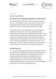 Bochum macht Schule: Neue Akzente in der ...