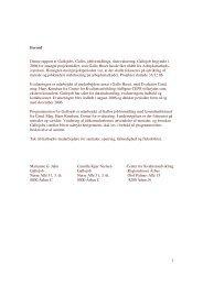 1 Forord Denne rapport er Gallojobs, Gallos jobformidlings ...