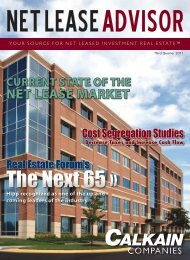 Current State of the Net Lease Market - Calkain Companies