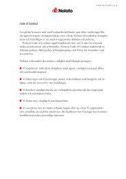Nolato Code of Conduct