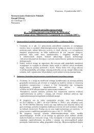 Polityka energetyczna Polski do 2030 roku - SEP