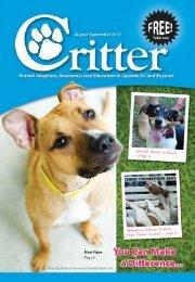 Animal Allies - Critter Magazine