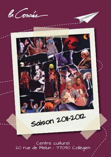 Plaquette Saison 2011-2012 - Collégien