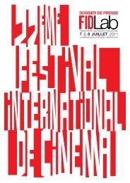 7 & 8 JUILLET 2011 - Festival international du documentaire de ...