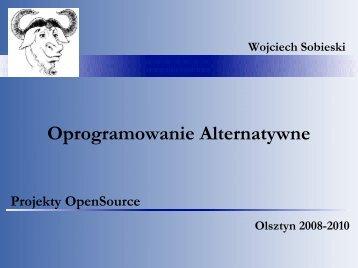 """Projekty """"OpenSource"""" - serwer stron pracownikow UWM"""