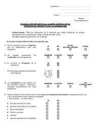 Planilla de Encuesta - FRBB - UTN