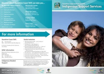 Download the Indigenous Support Services Brochure