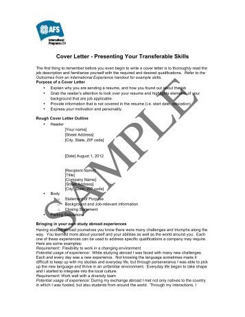 covering letter wiki