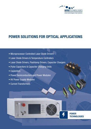 2011-05_DS_ED_EU_Power Solutions for Optical ...