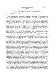 PrPsc : nové detekční metody a nové poznatky