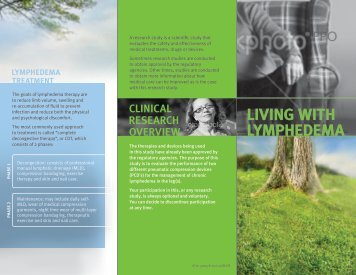 Living with Lymphedema