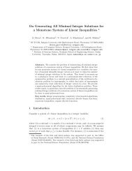 On Generating All Minimal Integer Solutions for a Monotone ... - Rutcor
