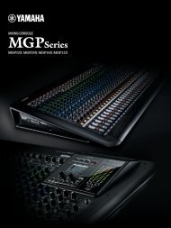 MGP Series [EN] 24.36MB - Yamaha Commercial Audio