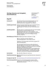 Glossar.pdf - Kantonspolizei St.Gallen - Kanton St.Gallen
