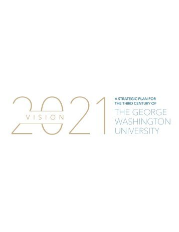 The Strategic Plan - Office of the Provost - The George Washington ...