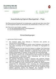 Ausschreibung Egmont Baumgartner – Preis - Österreichische ...
