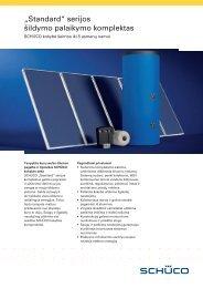 Standard kompl. šildymo palaikymui brošiūra - IdejaSildymui.lt