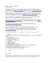 Siskind's Immigration Bulletin April 19, 2004 ... - Siskind, Susser