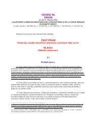 zákon č. 120/2002 Sb. o podmínkách uvádění biocidních přípravků a ...